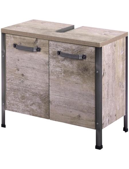 SCHILDMEYER Waschbeckenunterschrank »Harkon«, BxHxT: 64 x 59 x 33,6 cm