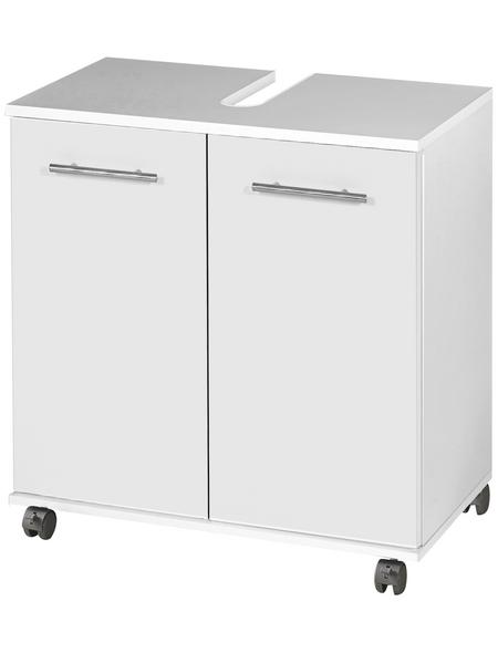 SCHILDMEYER Waschbeckenunterschrank »Isola«, BxHxT: 59,8 x 63,4 x 32,6 cm