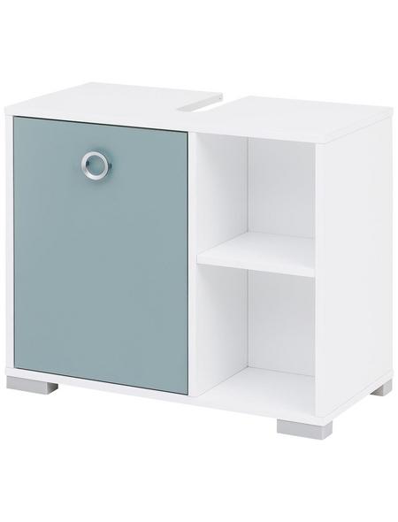 SCHILDMEYER Waschbeckenunterschrank »Kimi«, BxHxT: 65 x 57,5 x 33 cm Anschlagrichtung: links