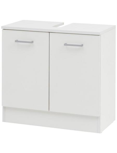 SCHILDMEYER Waschbeckenunterschrank »Lorenz«, BxHxT: 60 x 60,1 x 32 cm Anschlagrichtung: links/rechts