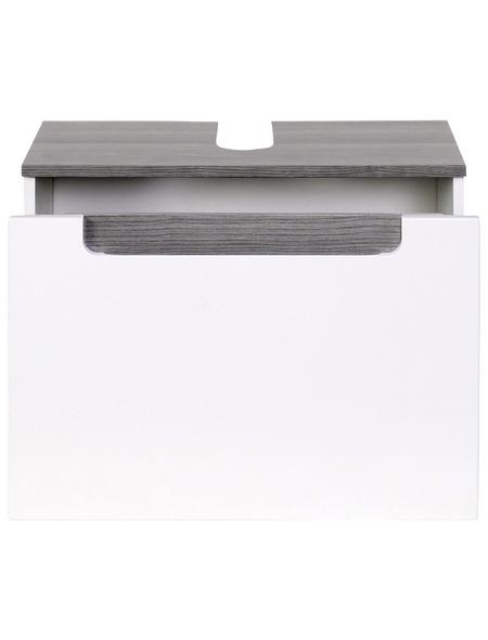 HELD MÖBEL Waschbeckenunterschrank »Siena«, B x H x T: 60 x 40 x 35 cm Anschlagrichtung: links/rechts
