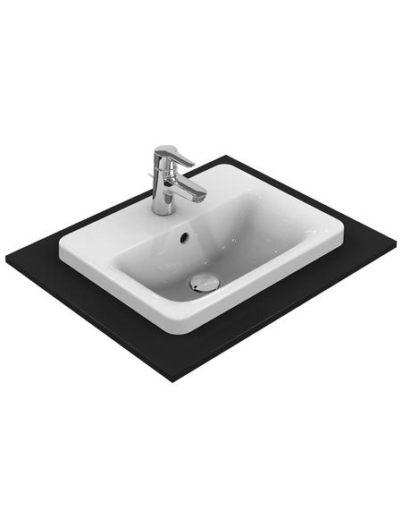 IDEAL STANDARD Waschtisch »Connect«, Breite: 50 cm, rechteckig