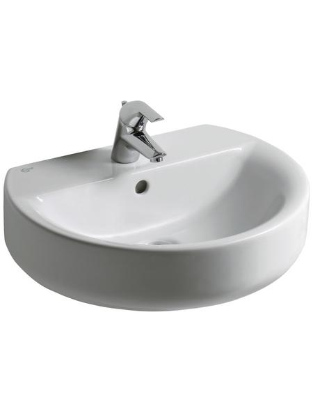 Ideal Standard Waschtisch »Connect Sphere«, Breite: 50 cm, halbrund