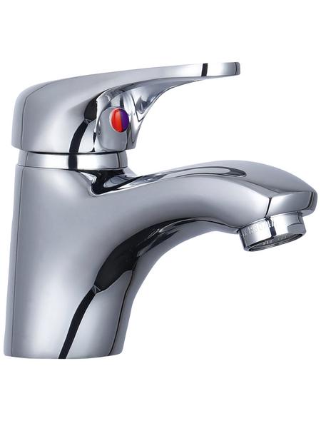 """WELLWATER Waschtisch-Einhebelmischer »Covetes«, Messing, glänzend, ⅜"""", inkl. Ablaufgarnitur"""