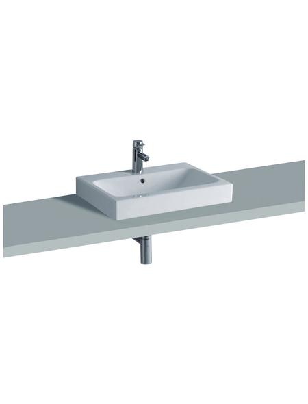 GEBERIT Waschtisch »iCon«, Breite: 60 cm, rechteckig