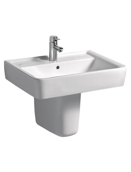 KERAMAG Waschtisch »Renova Plan«, Breite: 65 cm, eckig