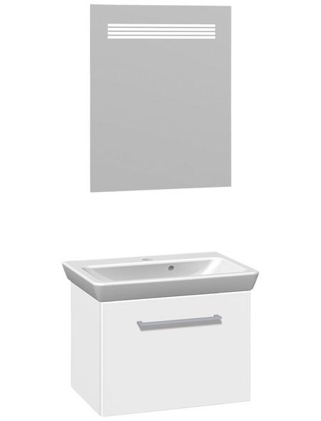 DANSANI Waschtisch-Set »Lotto«, Weiß