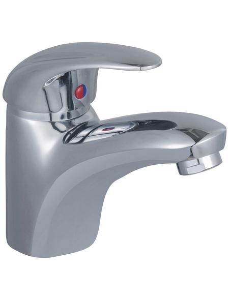 """SCHÜTTE Waschtischarmatur »Aqua2Save«, Messing glänzend, ½"""", inkl. Ablaufgarnitur, wassersparend"""