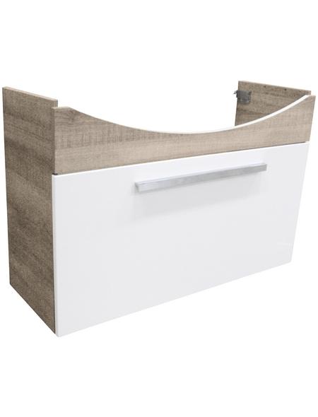 FACKELMANN Waschtischunterbau »A-Vero«, B x H x T: 98,5 x 35 x 64 cm