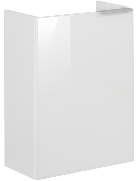 FACKELMANN Waschtischunterbau, B x H x T: 44 x 60 x 24,5 cm Anschlagrichtung: links