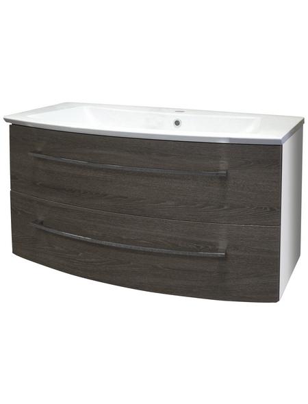 FACKELMANN Waschtischunterbau »Rondo«, B x H x T: 99 x 43 x 60 cm