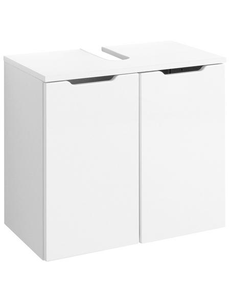 HELD MÖBEL Waschtischunterschrank »Belluno«, B x H x T: 60 x 35 x 54 cm links/rechts