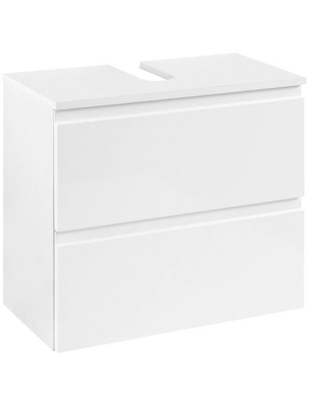 HELD MÖBEL Waschtischunterschrank »Cardiff«, B x H x T: 60 x 35 x 53 cm links/rechts