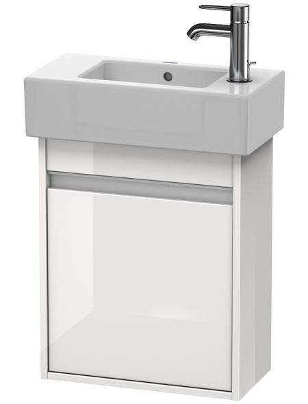 DURAVIT Waschtischunterschrank »Ketho«, BxHxT: 45 x 55 x 22,5 cm Anschlagrichtung: links