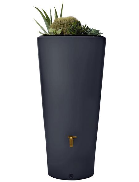 4RAIN Wasserbehälter, 4rain, Rund, 220 l, Kunststoff