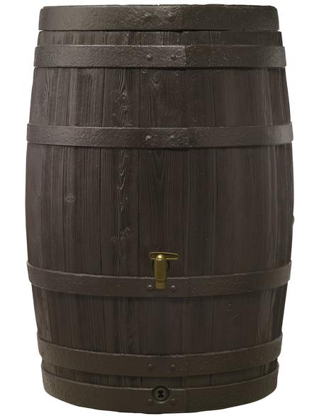 4RAIN Wasserbehälter, 4rain, Rund, 250 l, Kunststoff