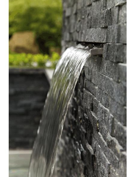 OASE Wasserfall, B x H: 60  x 10  cm, Edelstahl, silberfarben