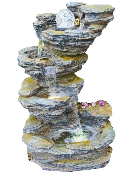 GRANIMEX Wasserfall »Fudong«, natur, inkl. Pumpe