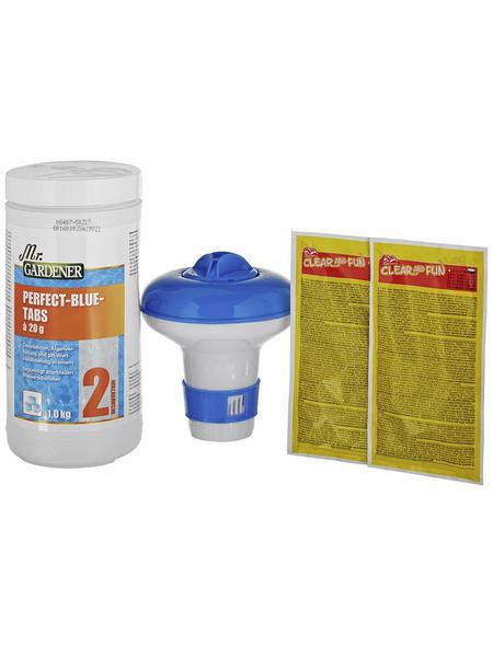 MR. GARDENER Wasserpflege, , für Schwimmbecken mit Kartuschenfilter