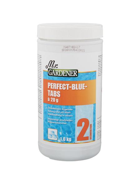 MR. GARDENER Wasserpflege »Perfect Blue Tabs «, Perfect Blue Tabs , für Pools