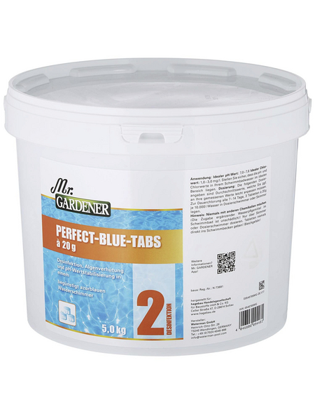 MR. GARDENER Wasserpflege »Perfect Blue Tabs «, Perfect Blue Tabs , für Pools