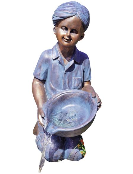 GRANIMEX Wasserspiel »Alois«, Polystone, bronzefarben
