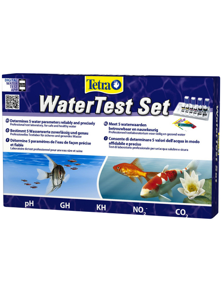 TETRA Wassertest, Tetra Water Test, geeignet für