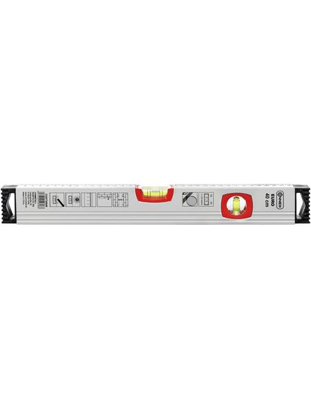 CONNEX Wasserwaage »EURO«, Silberfarben 40 Cm
