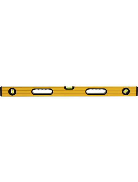 CONNEX Wasserwaage, Gelb 80 Cm