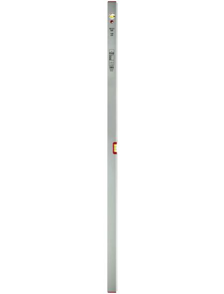 CONNEX Wasserwaage, Länge: 150 cm, silberfarben