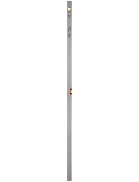 CONNEX Wasserwaage, Länge: 180 cm, silberfarben