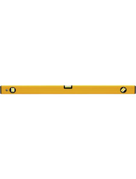CON:P Wasserwaage, Länge: 80 cm, gelb