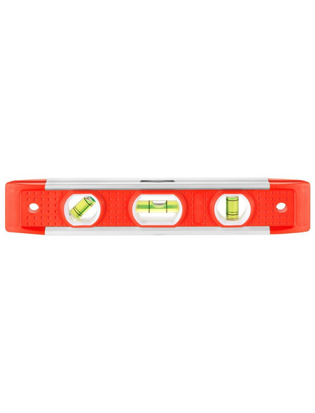 CONNEX Wasserwaage, Magnetisch, Länge: 20 cm, weiss/rot