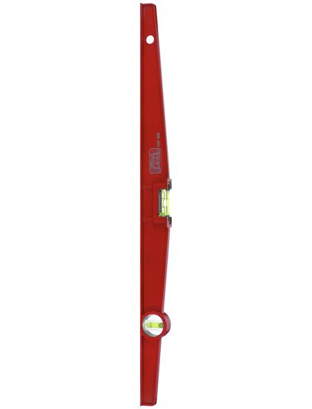 CONNEX Wasserwaage Rot 2,1 Cm