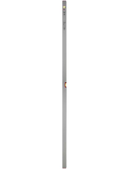 CONNEX Wasserwaage, Silberfarben 200 Cm
