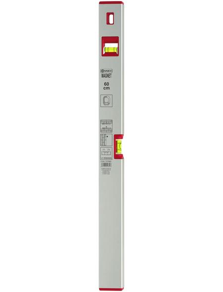 CONNEX Wasserwaage Silberfarben 60 Cm