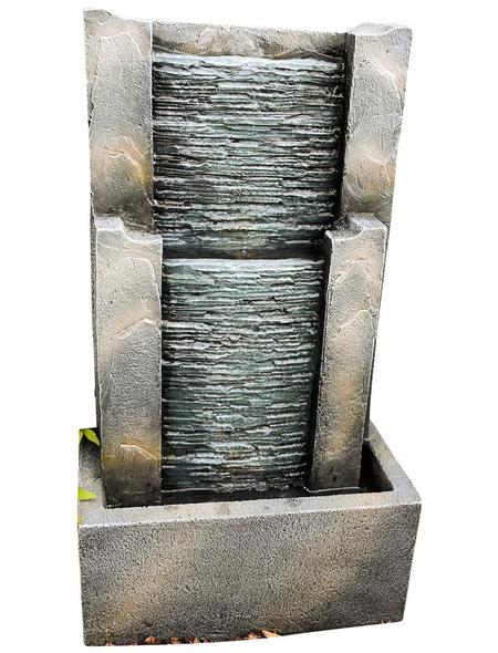 GRANIMEX Wasserwand »Fendi«, steingrau, inkl. Pumpe