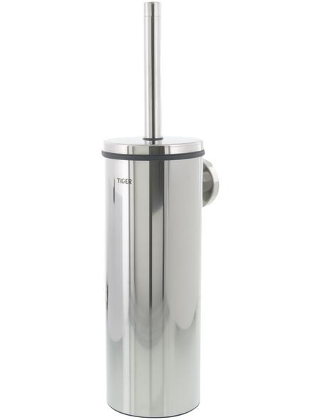 TIGER WC-Bürste »Boston«, Edelstahl/Kunststoff, edelstahlfarben