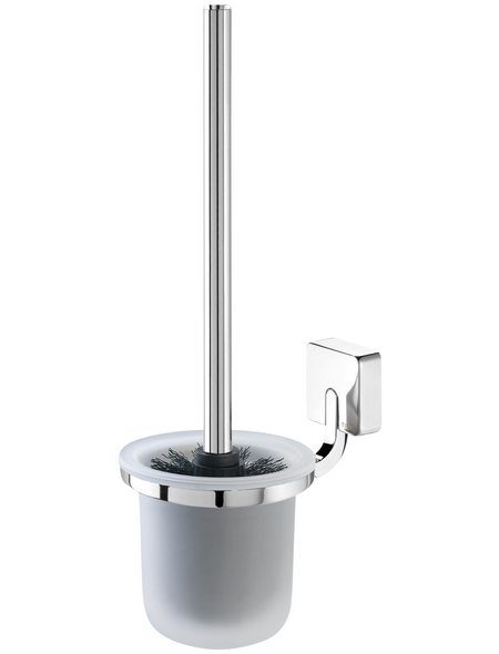 TIGER WC-Bürste »Impuls«, Zamak/Glas, chromfarben