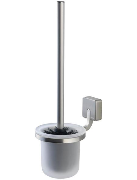 TIGER WC-Bürste »Impuls«, Zamak/Glas, edelstahlfarben