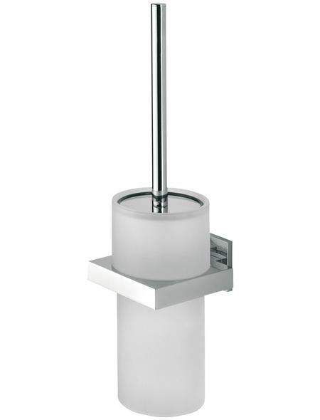 TIGER WC-Bürste »Items«, Edelstahl/Zamak/Glas, chromfarben