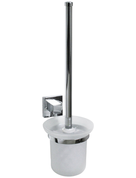 FACKELMANN WC-Bürste »Mare«, Höhe: 38 cm, chromfarben
