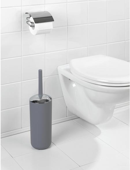 WENKO WC-Bürsten & WC-Garnituren »Brasil«, Höhe: 37 cm, grau