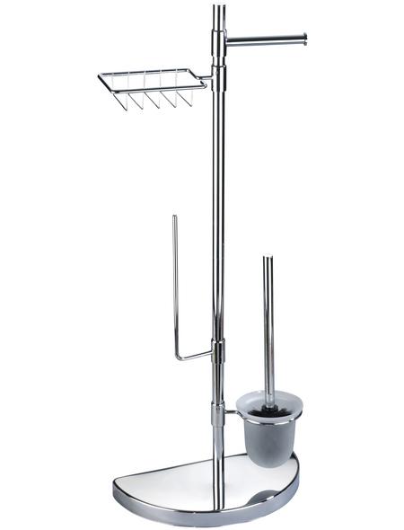 WENKO WC-Bürsten & WC-Garnituren, Edelstahl, silberfarben