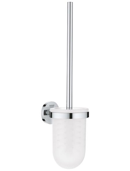 GROHE WC-Bürsten & WC-Garnituren »Essentials«, Metall/Glas, glänzend, chromfarben
