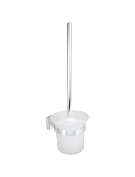 WELLWATER WC-Bürsten & WC-Garnituren »Ferrara«, Höhe: 37,1 cm, transparent/chromfarben