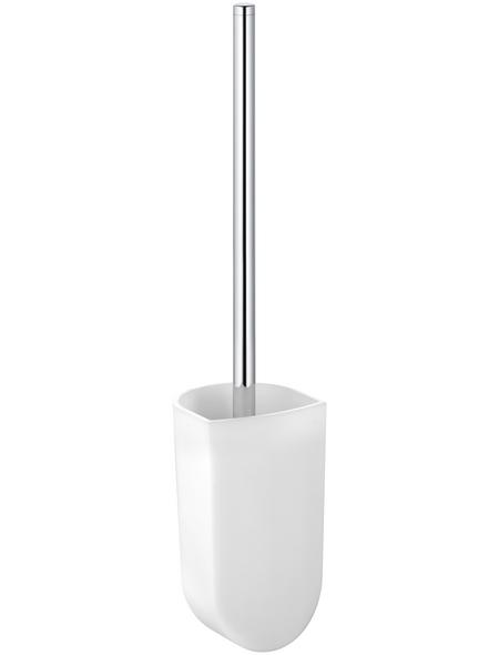 KEUCO WC-Bürsten & WC-Garnituren, Glas, weiß/chromfarben