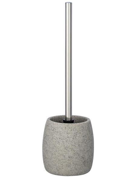 WENKO WC-Bürsten & WC-Garnituren »Goa«, Höhe: 38,5 cm, hellgrau