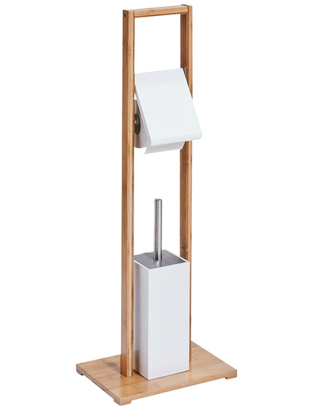 ZELLER WC-Bürsten & WC-Garnituren, Höhe: 82 cm, weiss/natur