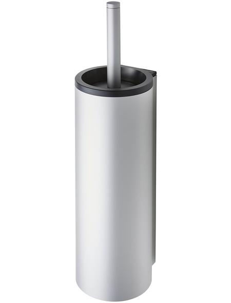 KEUCO WC-Bürsten & WC-Garnituren, Kunststoff/Alu, silberfarben/schwarz